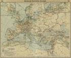 Европа Средние века - коммерческая карта 1328
